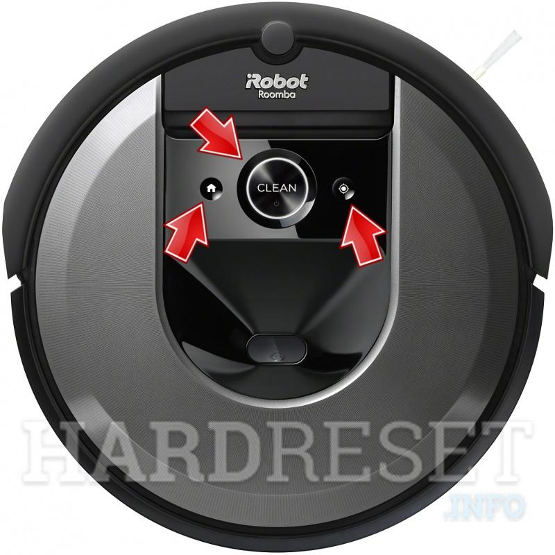Hard Reset Irobot Roomba I7 How To Hardreset Info