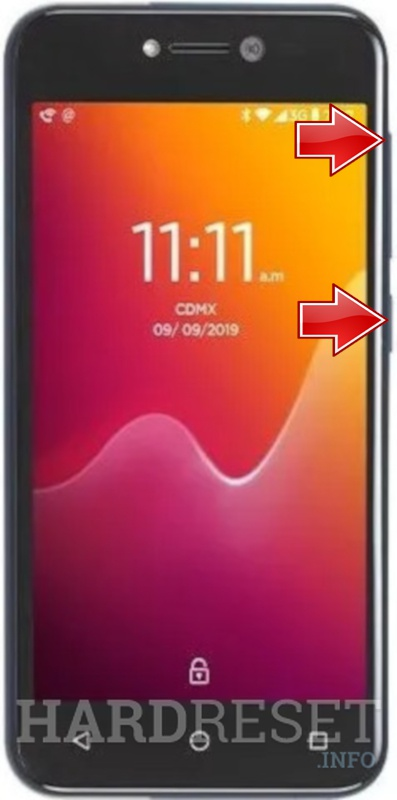 Remove Screen Lock on LANIX X540