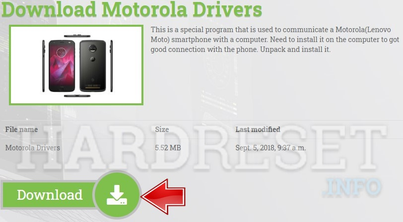 How To Install Motorola Droid Turbo 2 Drivers On Computer With Windows Os How To Hardreset Info
