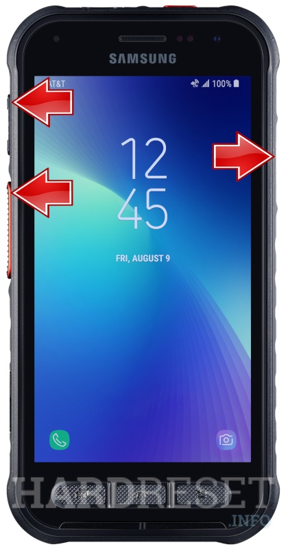 Format SAMSUNG Galaxy XCover FieldPro