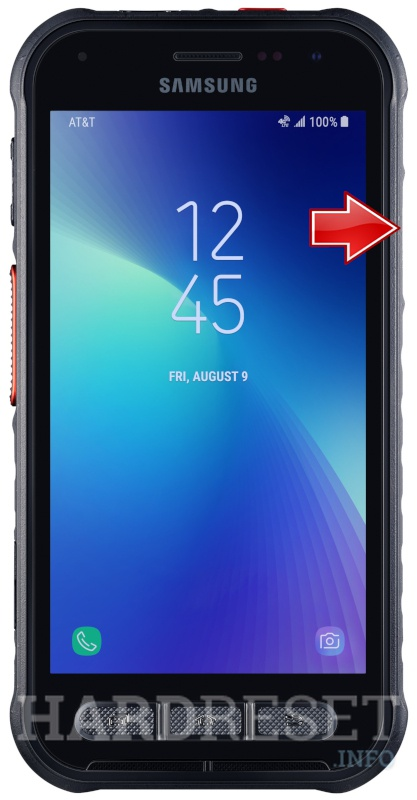 Wipe data on SAMSUNG Galaxy XCover FieldPro