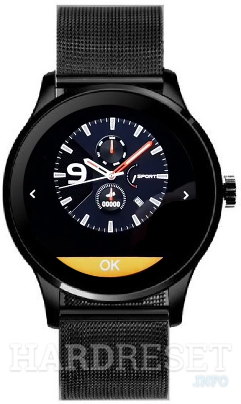 LETINE K88H Watch face menu