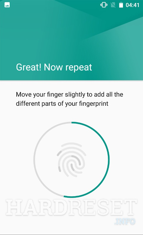 Add fingerprint CYRUS CS24 Work