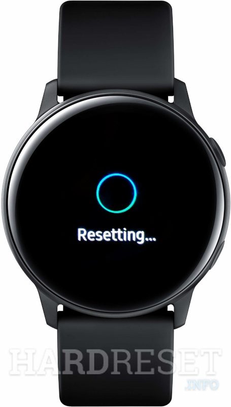 SAMSUNG Galaxy Watch Active Resetting