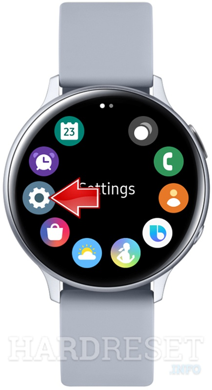 SAMSUNG Galaxy Watch Active 2 Settings icon