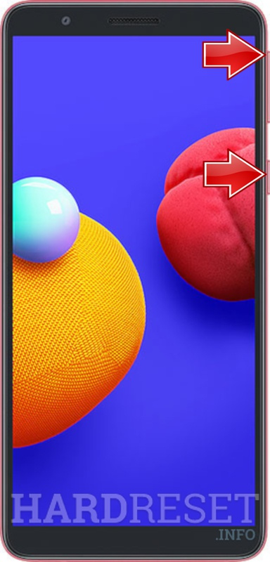 Hard Reset Samsung Galaxy A01 Core How To Hardreset Info
