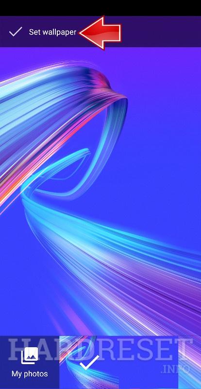 Change Wallpaper Asus Zenfone Max Pro M2 How To Hardreset Info
