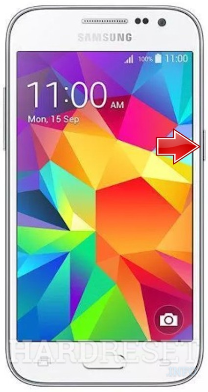 Odstrániť Screen Lock na SAMSUNG Galaxy Core Prime VE