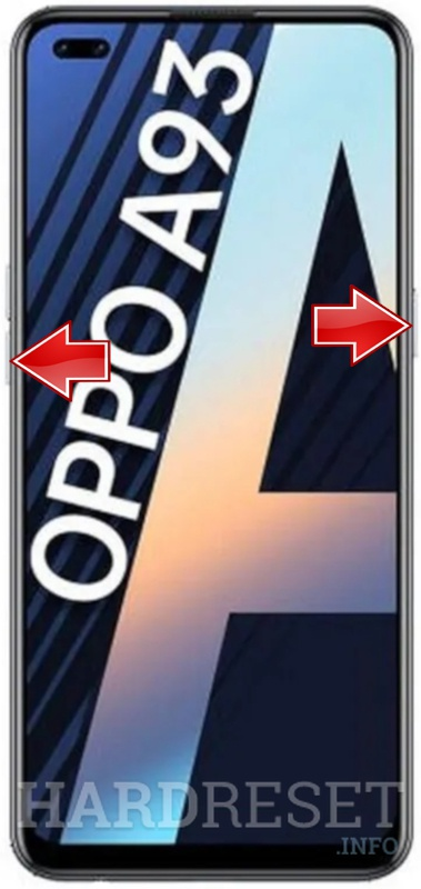 Remove screen password on OPPO A93
