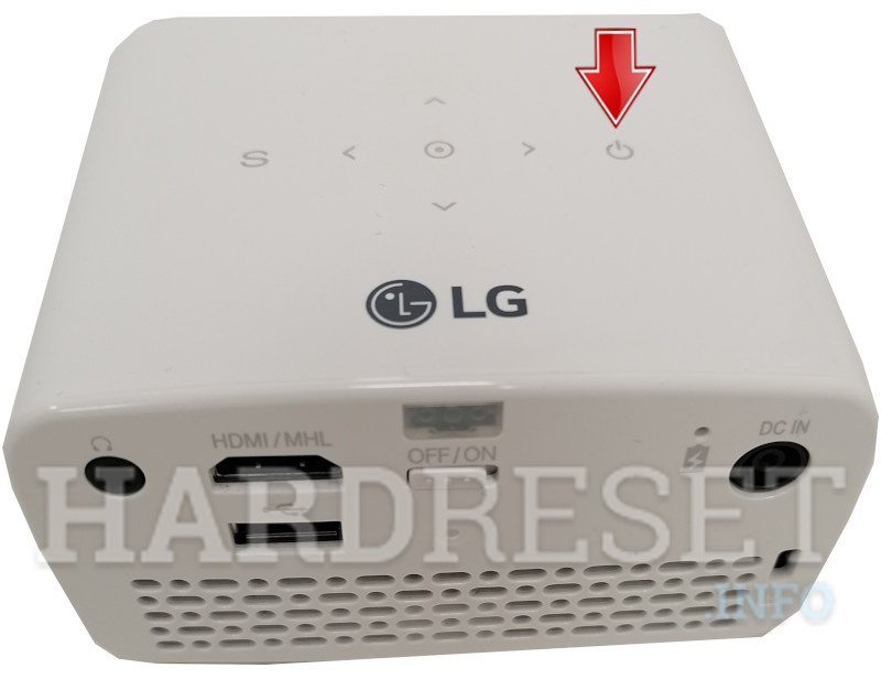 LG PH300 Power Button