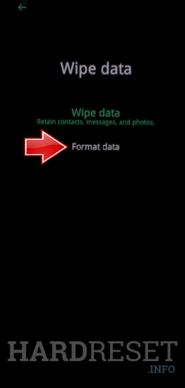 Wipe data on OPPO A93