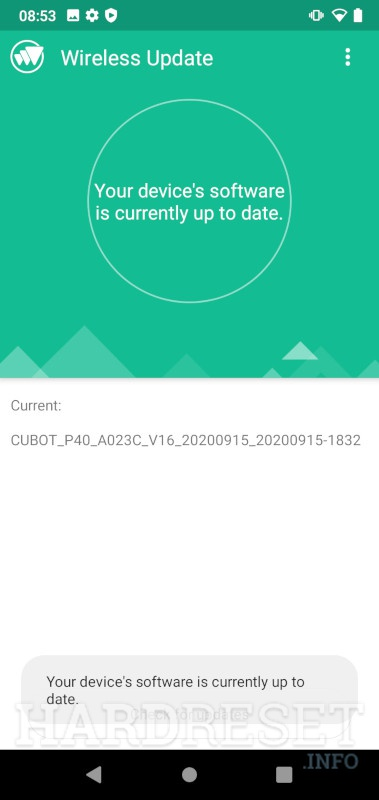 CUBOT Max 2  Software Update