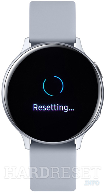 SAMSUNG Galaxy Watch Active 2 Resetting