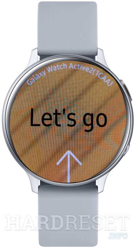 SAMSUNG Galaxy Watch Active 2 Let's go