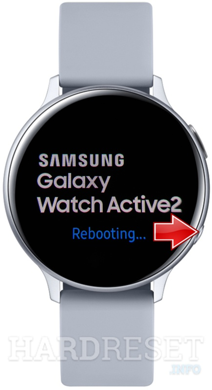 SAMSUNG Galaxy Watch Active 2 Rebooting + Home button