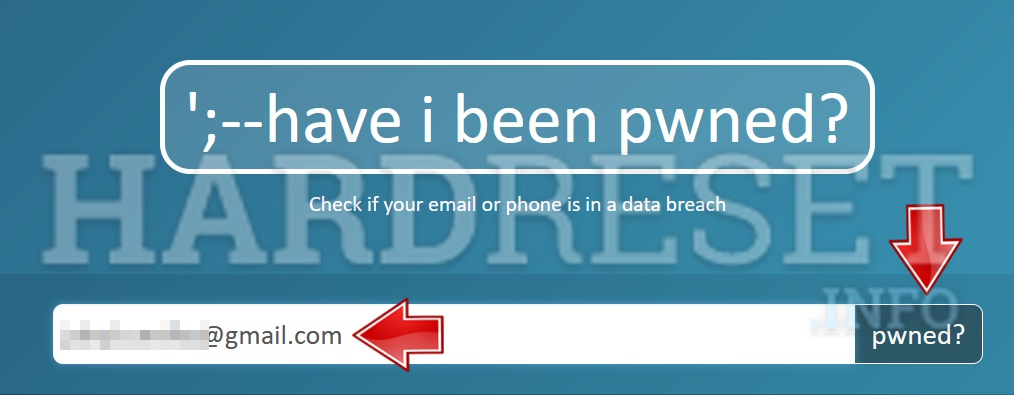 A place where you need to input your email address to check if APPLE iPad mini 3 Wi-Fi   Cellular was hacked