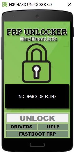 FRP Unlocker - HardReset info